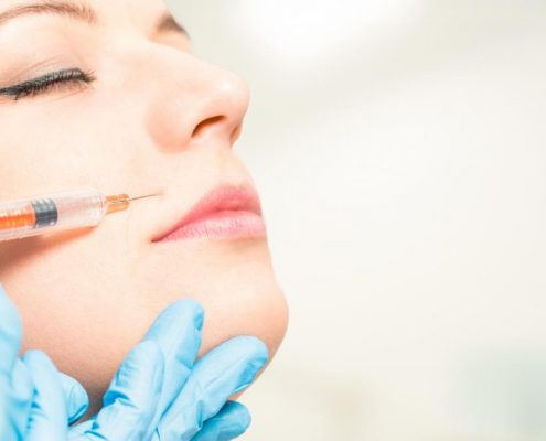 تزریق بوتاکس برای دندان قروچه